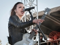 Halestorm at 98.9 the Rock 2013 Rockfest in Kansas City -13