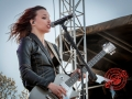 Halestorm at 98.9 the Rock 2013 Rockfest in Kansas City -14