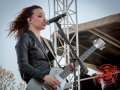 Halestorm at 98.9 the Rock 2013 Rockfest in Kansas City -15