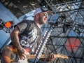 Staind performing live at 98.9 the Rocks Rockfest.