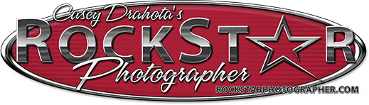 Rock Star Photographer Logo