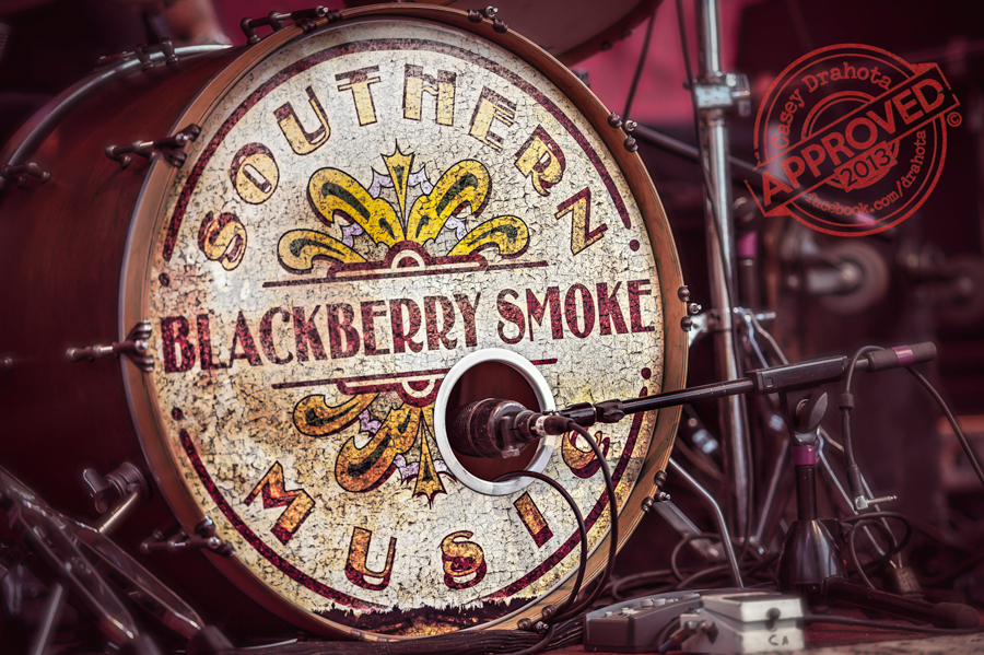 Blackberry Smoke in Sturgis SD at Easy Riders Saloon 2013