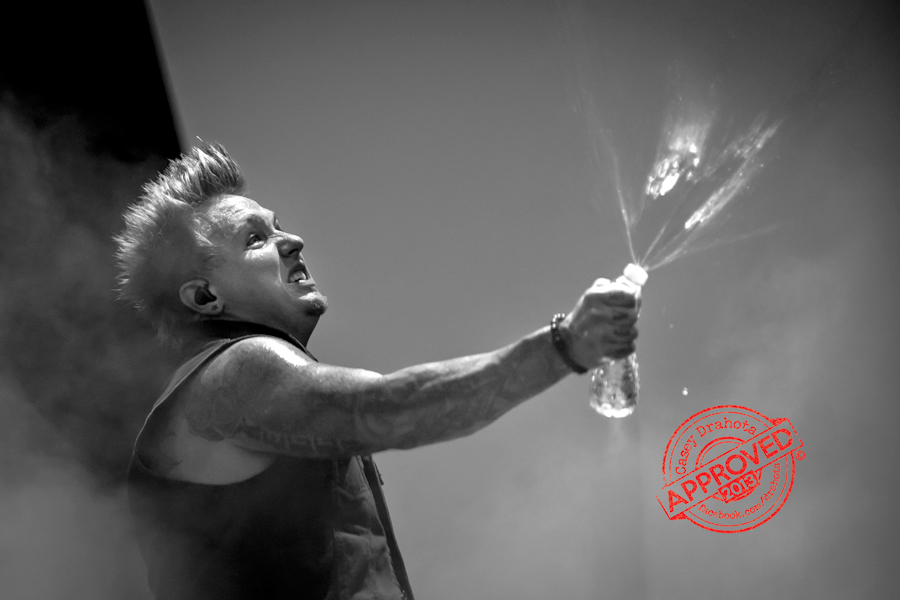 Jacoby Shaddix of Papa Roach