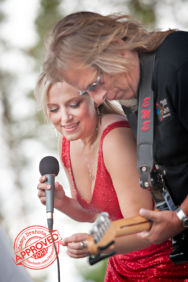 Sena Ehrhardt and father Edward Ehrhardt performing live at Blues From the Top 2013