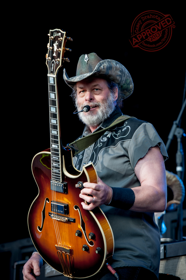 Ted Nugent live onstage in Kansas City.